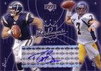 ドリュー・ブリーズ Drew Brees 2003 UD Pros&Pospects Autograph 500枚限定!K・Boller Rookie