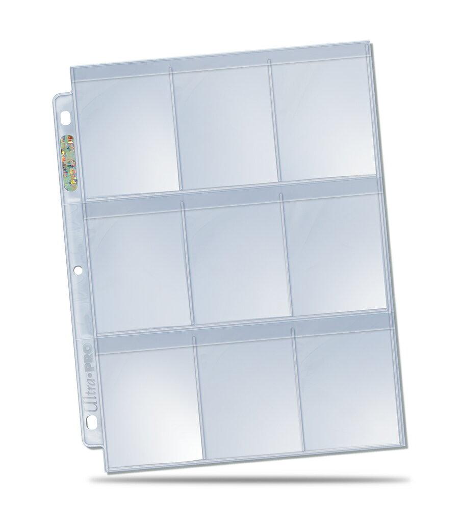 トレーディングカード・テレカ, トレーディングカード  (Ultra Pro) 9 3 84732 9-Pocket Secure Platinum Page for Standard Cards 100