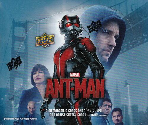 アントマン トレーディングカード ボックス / 2015 Upper Deck Marvel Ant Man Trading Cards (Box...
