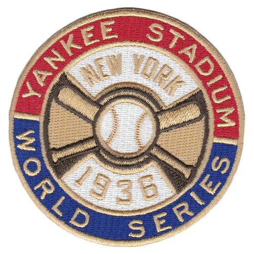 【ニューヨーク ヤンキース】 1936ワールドシリーズ優勝記念ロゴパッチ (New York Yankees) (MLB) (メジャーリーグベースボール) (World Series)画像