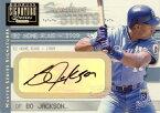 ボー・ジャクソン Bo Jackson 2001 Donruss Signature Stats Masters Series