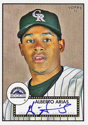 トレーディングカード・テレカ, トレーディングカード MLB 2007 Topps 1952 Signatures Alberto Arias)