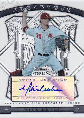 トレーディングカード・テレカ, トレーディングカード MLB 2009 Bowman Sterling Prospects AutographMike Leake
