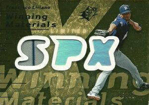 MLBカードをお探しなら!フランシスコ リリアーノ 2007 SPx Winning Materials Patches Gold 9...
