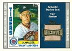 スパーキー・アンダーソン MLBカード Sparky Anderson 2002 Topps Archives Seat Relics