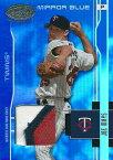 ジョー・メイズ MLBカード Joe Mays 2003 Leaf Certified Materials Mirror Blue Materials 090/100