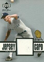 MLBカードをお探しなら!ロン・ギドリー MLBカード Ron Guidry 2001 UD Gold Glove Game Jersey