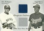 【アレックス・ロドリゲス】【アンヘル・ベローア】 MLBカード Alex Rodriguez / Angel Berroa 2004 Skybox Autographics Prospects Endorsed Dual Jersey 395/500