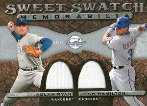 【ノーラン・ライアン】【ジョシュ・ハミルトン】 MLBカード Nolan Ryan / Josh Hamilton 2009 ...