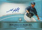マウリシオ・ロブレス MLBカード Mauricio Robles 2010 Bowman Platinum Prospect Autographs Refractors