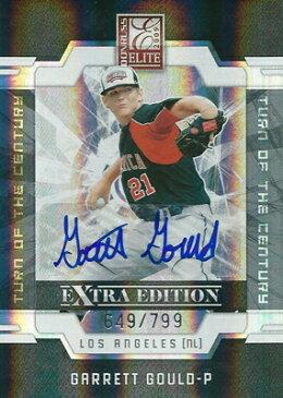 ギャレット・グールド MLBカード Garrett Gould 2009 Donruss Elite Extra Edition Sognature Turn of The Century 649/799