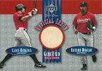 ランス・バークマン / リチャード・ヒダルゴ MLBカード Lance Berkman / Richard Hidalgo 2001 UD Gold Glove Official Issue Game Ball