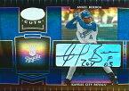 アンヘル・ベローア MLBカード Angel Berroa 2004 Leaf Certified Cuts Marble Signature Blue 21/50