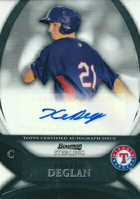 トレーディングカード・テレカ, トレーディングカード  MLB Kellin Deglan 2010 Bowman Sterling Prospect Autographs