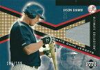 ジェイソン・ジアンビ MLBカード Jason Giambi 2002 UD Ultimate Collection Game Jersey 191/199