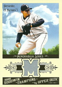 フェリックス・ヘルナンデス MLBカード Felix Hernandez 2009 UD Goodwin Champions Memorabilia