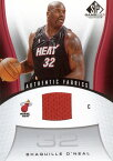 NBA カード【シャキール・オニール】2006/07 UD SP Game Used Jersey!Shaquille Oneal