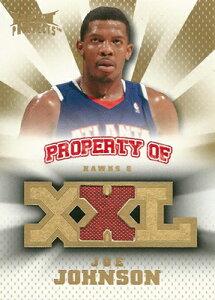 NBAカードをお探しなら!ジョー ジョンソン NBAカード 2008/09 Fleer Hot Prospects Property o...