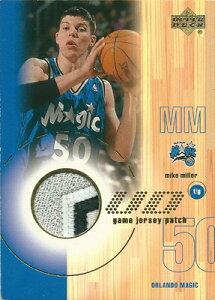 NBAカードをお探しなら!マイク・ミラー NBAカード Mike Miller 01/02 Upper Deck Game Jerseys...