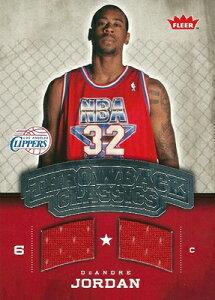 NBAカードをお探しなら!デアンドレ・ジョーダン NBAカード DeAndre Jordan 08/09 Fleer NBA Cl...