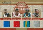 【ドミニク・ジョーンズ】【パトリック・パターソン】【クインシー・ポンデクスター】【ジェームス・アンダーソン】 NBAカード 10/11 Timeless Treasure NBA Apprentice Materials Quads 06/99