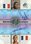 ボリス・ディアウ/ミカエル・ピートラス NBAカード Boris Diaw/Mickael Pietrus 03/04 SP Signature National Treasures 038/100