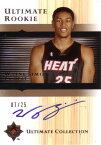 ウェイン・シミエン NBAカード Wayne Simien 05/06 UD Ultimate Collection Rookie Autographs Gold 07/25