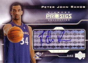 ピーター・ラモス NBAカード Peter John Ramos 04/05 UD Pro Sigs Pro Signs Rookies