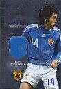 サッカーカード 【中村憲剛】 2008 サッカー 日本代表 ジャージカード 青箔パラレル 100枚限定!(008/100)