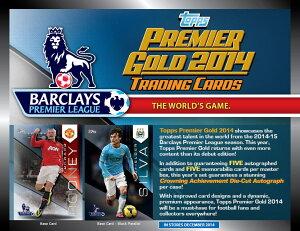 【予約】SOCCER 2014 Topps Premier Gold England Premier League パック (Pack) ★12月入荷予定!