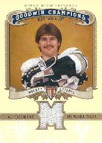 レイ・ボーク NHLカード Ray Bourque 2012 Upper Deck Goodwin Champions Memorabilia