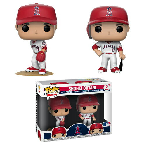 コレクション, フィギュア  () MLB 2 Funko Pop Shohei Ohtani 2-Pack (Los Angeles Angels) MLB Funko Pop! 1121