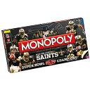 【3/29入荷!】 【ニューオリンズ セインツ】 NFL 第44回スーパーボウル優勝記念 モノポリー (M...