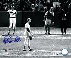 カールトン・フィスク / Carlton Fisk 直筆サイン入り 8x10フォト 1975 ワールドシリーズ HR