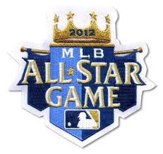 MLB 2012 オールスターゲームロゴパッチ / 2012 All Star Game Logo Patch