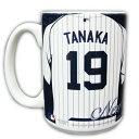 田中将大 ニューヨーク・ヤンキース #19 マグカップ / Masahiro Tanaka New York Yankees Mug Cup