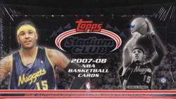 NBA 07/08 TOPPS STADIUM CLUB