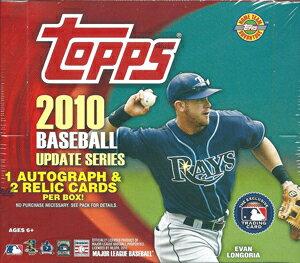 MLB 2010 Topps Update Jumbo ボックス(Box)