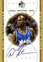 NBAカードをお探しなら!【ダレル アームストロング】NBA 2000/01 SP Authentic Sign of the T...