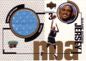 【シャリーフ アブドゥル=ラヒーム】NBA 1998/99 Upper Deck Game Jersey / Shareef Abdur-Rahim