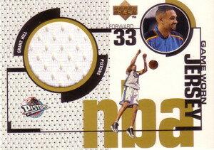 NBAカードをお探しなら!【グラント ヒル】NBA 1998/99 Upper Deck Game Jersey / Grant Hill
