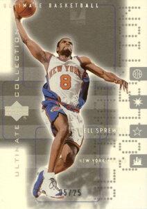 NBAカードをお探しなら!【ラトレル スプリーウェル】NBA 2001/02 UD Ultimate Collection Pla...