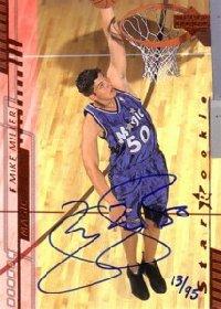 NBAカードをお探しなら!【マイク ミラー】NBA 2001/02 Upper Deck Buybacks 95枚限定!(13/95...