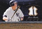 MLBカード【ジェイソン ジアンビ】2008 Upper Deck Yankees Stadium Legacy Collection Memorabilia / Jason Giambi
