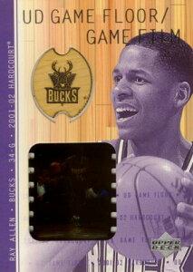 NBAカードをお探しなら!【レイ アレン】2001/02 UD Hardcourt UD Game Floor/Game Film /Ray...