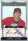 【ジェームズ エイブリー】2007 Bowman Sterling Prospects Autograph Refractors 199枚限定! (181/199)/Wendell Fairley