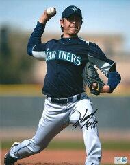 岩隈久志 MLB オーセンティック 直筆サイン入り 8×10 フォト / Hisashi Iwakuma