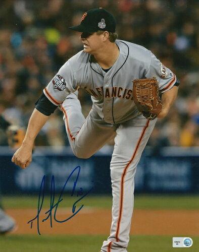マット・ケイン MLB オーセンティック 2012 ワールドシリーズ 直筆サイン入り 8×10フォト / Matt ...