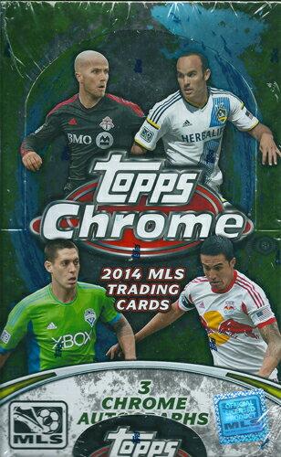 トレーディングカード・テレカ, トレーディングカード 2014 Topps MLS Chrome Soccer Pack822