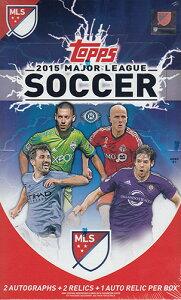 【予約】SOCCER 2015 Topps Major League Soccer (MLS) 3/27入荷!